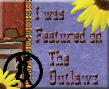 I was featured on the Outlawz July 3, 2011