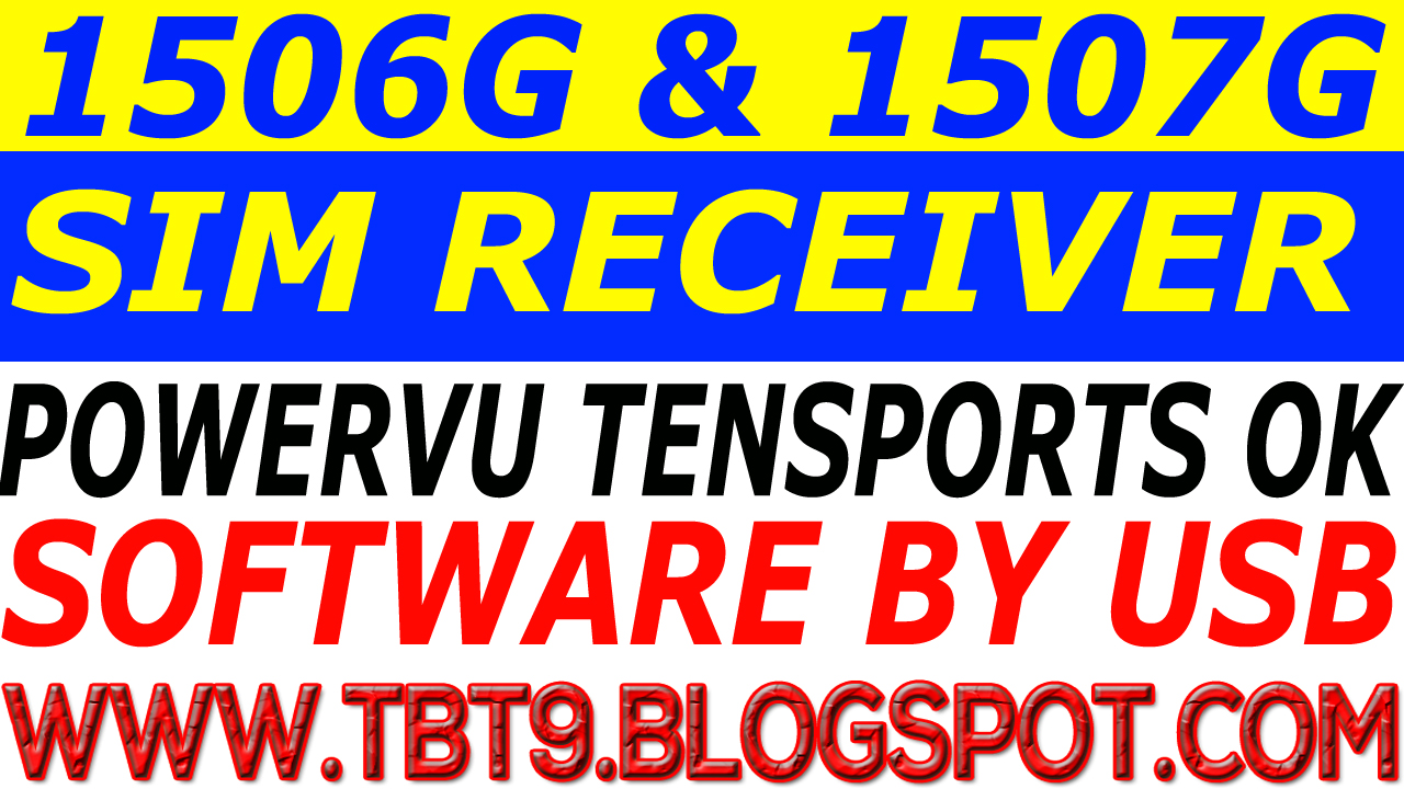 MULTIMEDIA 1506G SIM RECEIVER POWERVU TEN SPORTS OK NEW