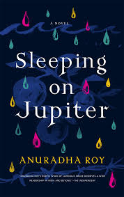 https://www.goodreads.com/book/show/25448677-sleeping-on-jupiter?from_search=true