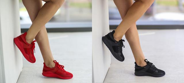 Adidasi dama online ieftini la moda rosii, negri pentru vara 2016
