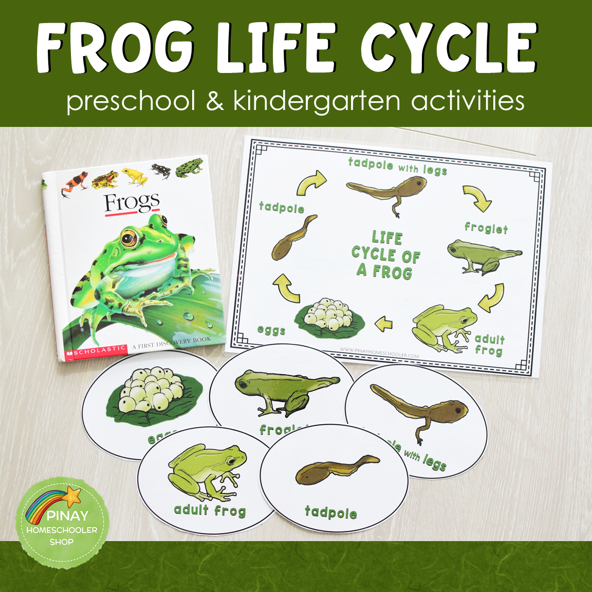 Life Cycle Of A Frog Learning Activities The Pinay