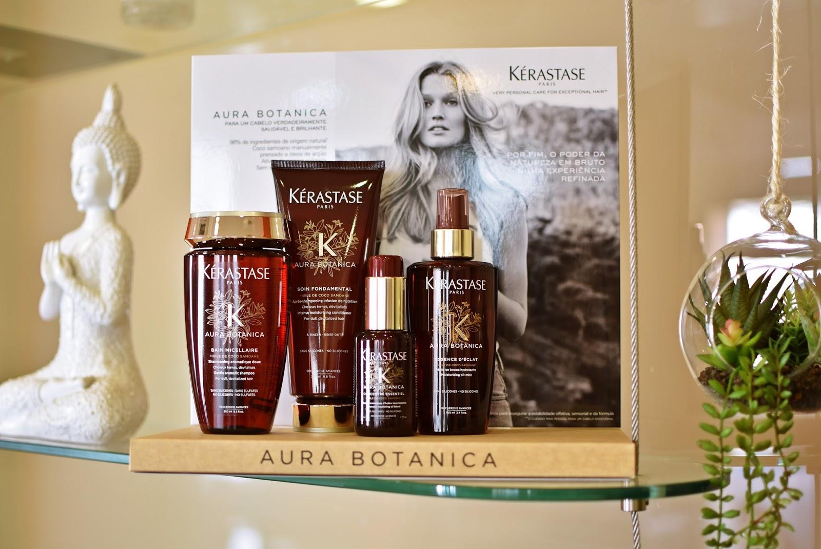 Aura Botanica - A nova gama top e natural da Kérastase