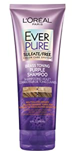 loreal paris everpure purple shampoo and conditioner for grey hair