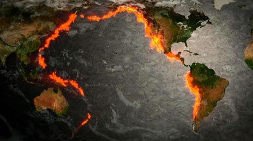 ¿El Anillo de Fuego del Pacífico se está despertando? Grandes eventos Geológico desencadenan preocupaciones