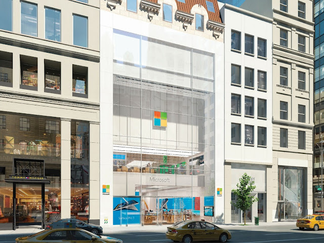 Microsoft announces grand opening dates for its first New York City flagship store, Microsoft will open its flagship NYC store with a big party on October 26