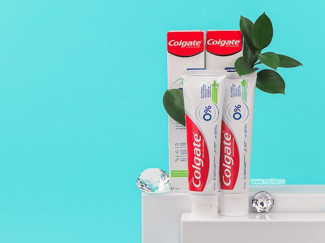 зубная паста Colgate 0% (отзывы с фото)