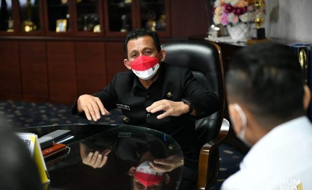 Lakukan Audensi,  HIPMI Provinsi Kepri Harapkan Gubernur Kepri Menghadiri Musda ke VI