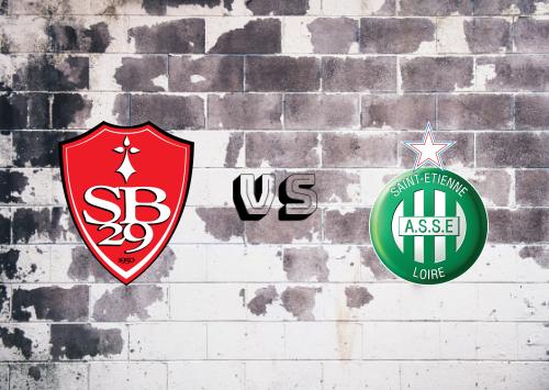 Brest vs Saint-Étienne  Resumen