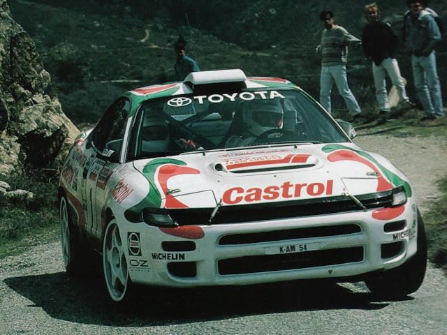 Toyota Celica ST185, kultowe rajdówki
