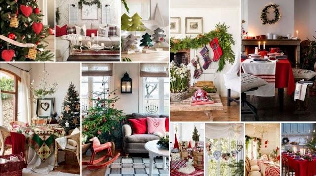 Χριστουγεννιάτικες Διακοσμήσεις με Υφασμάτινα στοιχεία