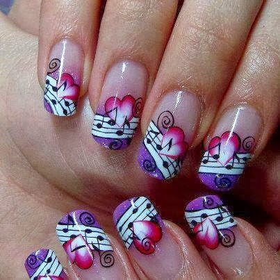 imagenes uñas decoradas, decoracion de uñas