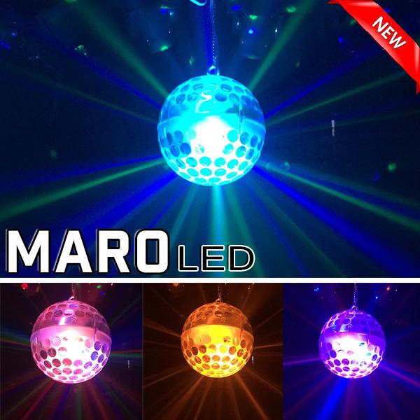 Thiết kế đèn LED MARO trái châu phá cách
