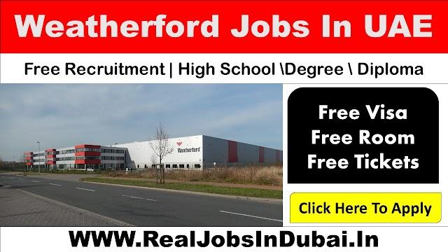 Weatherford Career in UAE - 2021