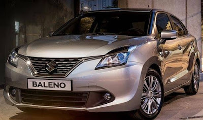 Baleno car images and pictures - night glaze color