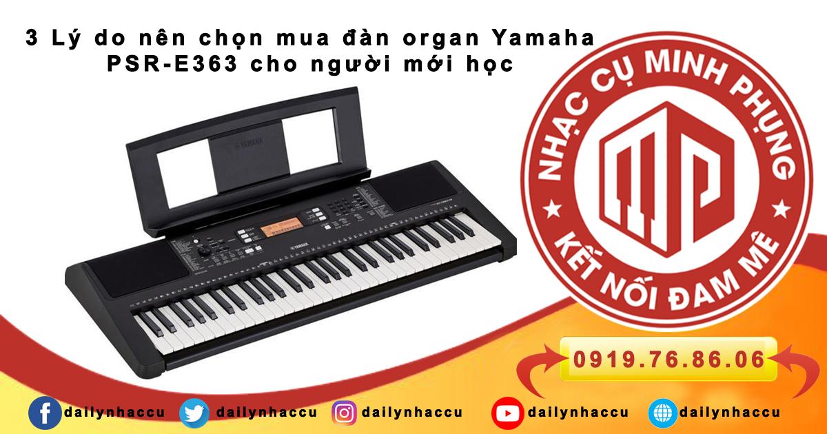 giá đàn organ yamaha e363