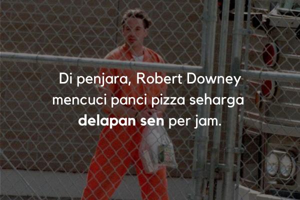 Robert Downey di penjara