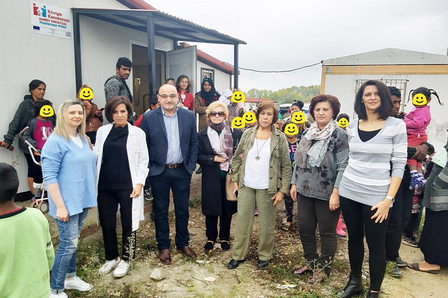 """Νέα Δράση Εμβολιασμού στον Οικισμό """"Μαύρικα"""" στην Καρδίτσα"""