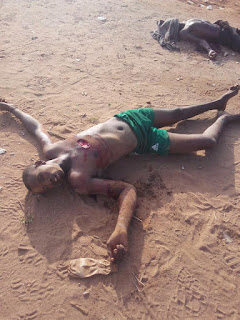 Graphic: Soldiers rescue victims, kill 2 kidnappers in Bauchi
