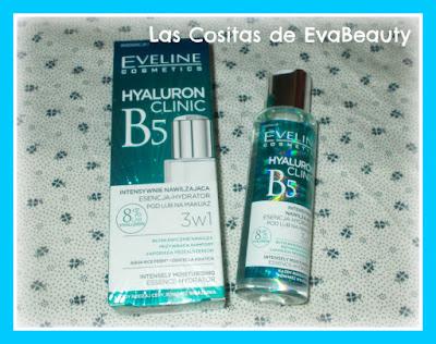 Sérum facial hidratante Hyaluron Clinic 3 en 1 de Eveline Cosmetics