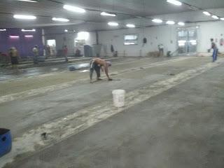 Finishing Floor Hardener, PT. Mayer, Cibinong - Bogor