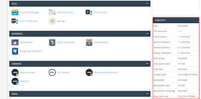 infinityfree cpanel