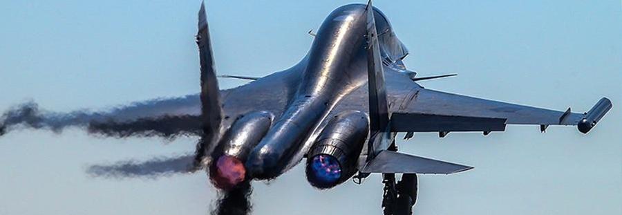 У Росії впав фронтовий бомбардувальник Су-34