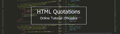 Html Quotations