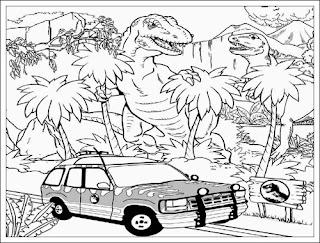 Malvorlage Jurassic Park Coloring And Malvorlagan