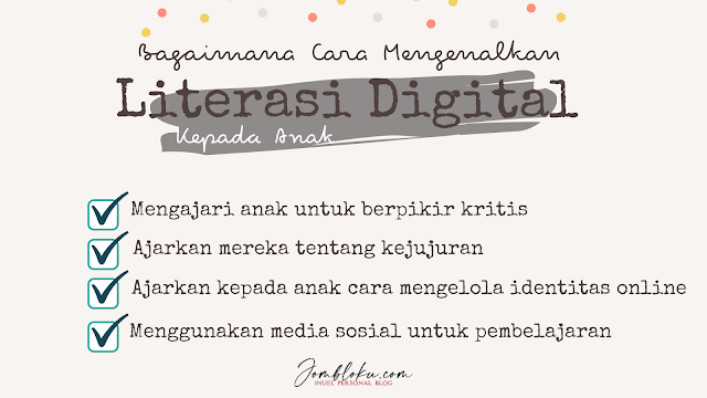 cara mengenalkan literasi digital