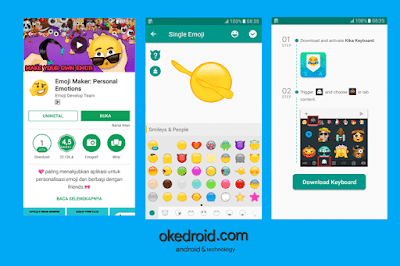 Emoji Maker Android Google Play Store