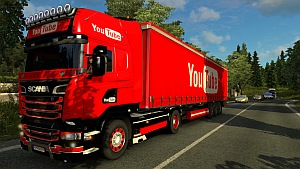 YouTube Scania skins and trailer