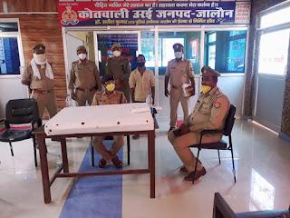 थाना कोतवाली पुलिस द्वारा चोरी के माल के साथ अभियुक्त गिरफ्तार                                                                                                                                                                           संवाददाता, Journalist Anil Prabhakar.                                                                                               www.upviral24.in