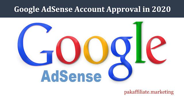 adsense approval in 2020