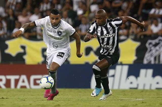 Botafogo e Ceará empatam na última rodada do Brasileirão e Vozão se livra do rebaixamento