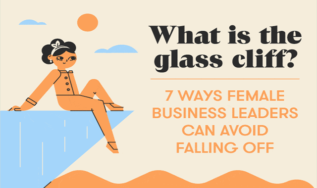 What Is the Glass Cliff? #infographic
