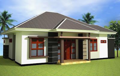 Contoh Desain Rumah Minimalis Atap Limas