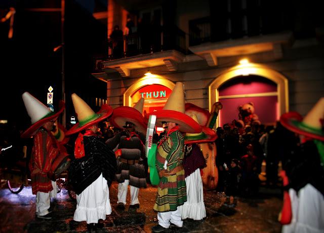 carnevale, maschere, messicani, persone mascherate, gente in maschera
