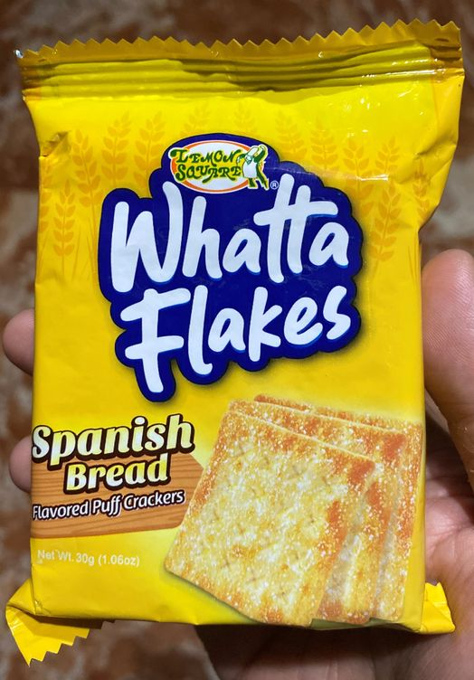 Lemon Square Whatta Flakes Snack Food Item For Toddlers