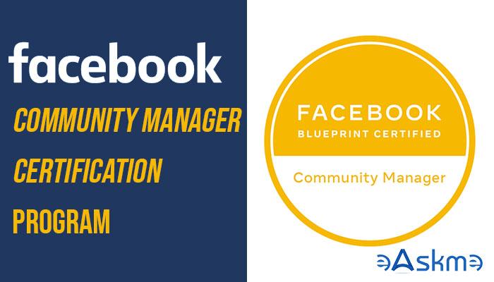 Facebook Community Manager Certification Program: eAskme