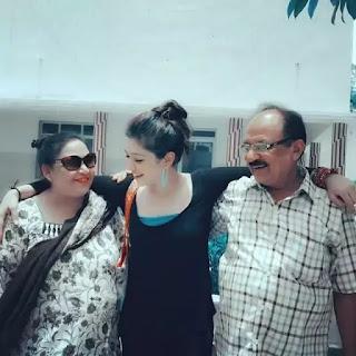 Akanksha Arya family