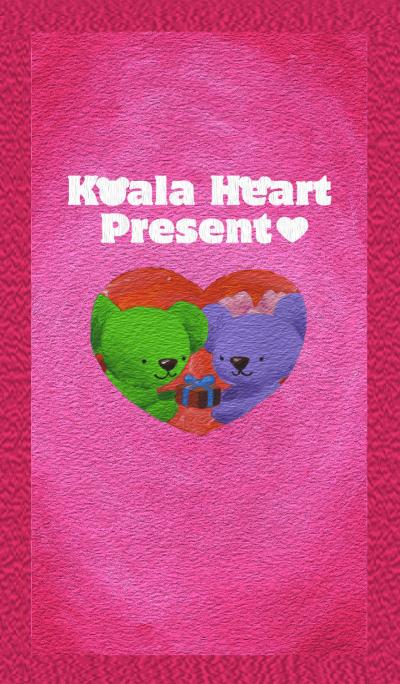 Koala Heart Present