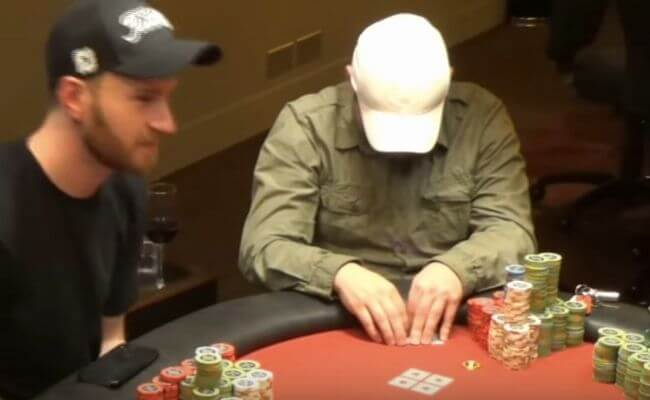Mike Postle cheating at poker