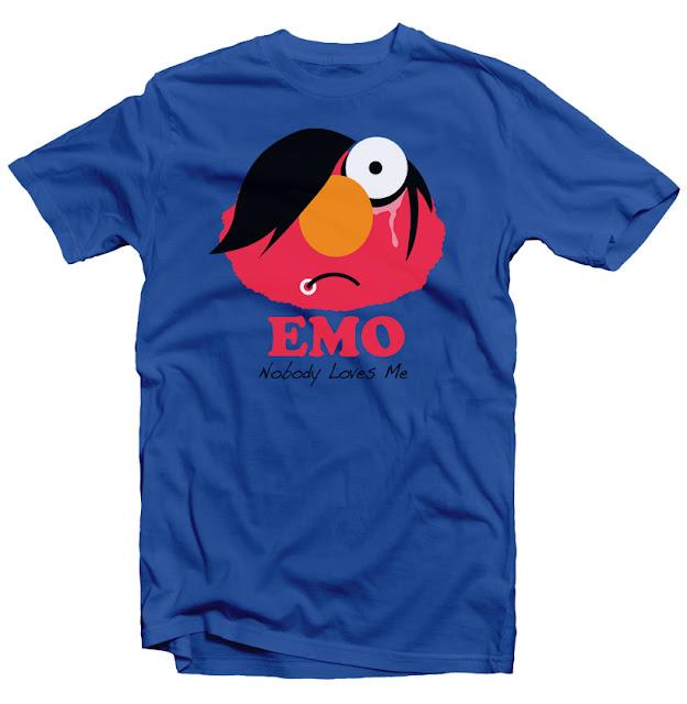 emo tshirt design