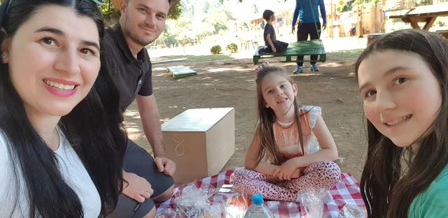 picnic sorriso colorido