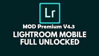 Lightroom cc full preset apk