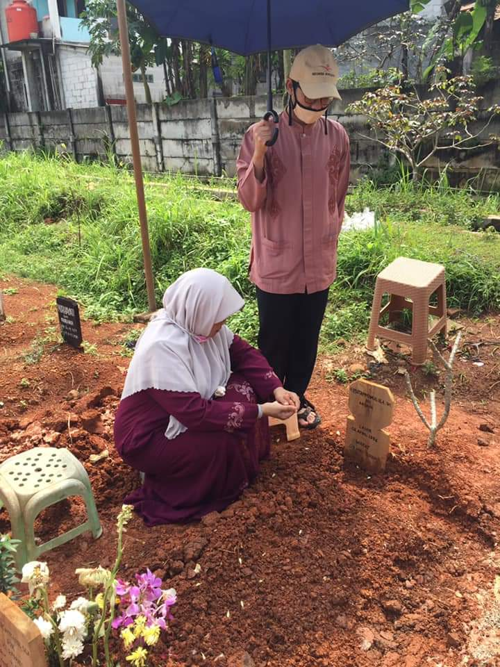 Surat Ibu 10 Anak Penghafal Alquran untuk Bapak di Tempat Baru