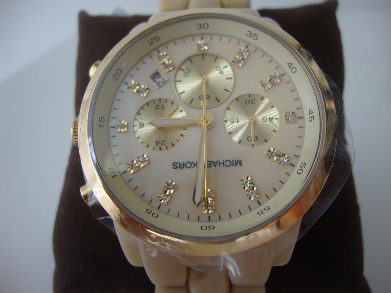 9919561cbfdab Produtos Importados  Relógio MICHAEL KORS MK 5217 MADREPÉROLA R  899