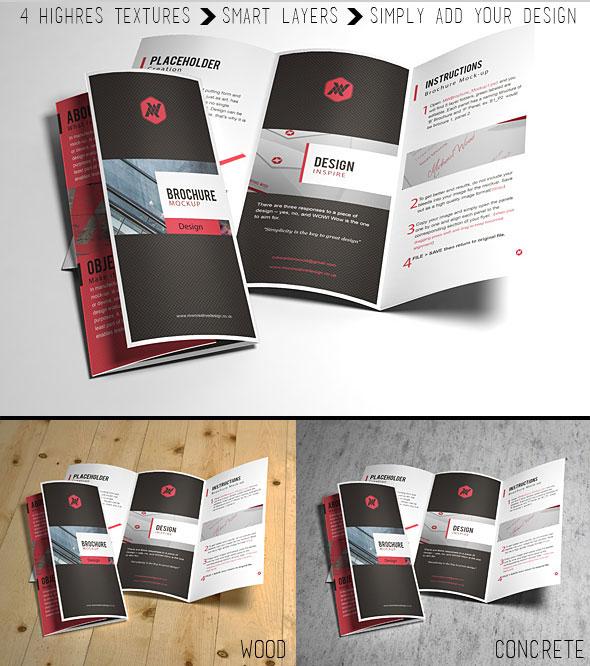 Smart Brochure Mock-up