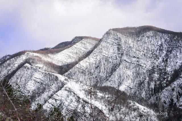 Crespino del Lamone trekking Dom z Kamienia blog
