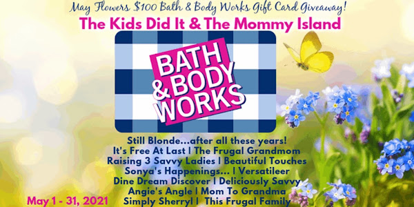 May $100 Bath 🛁 & Body Works Giveaway